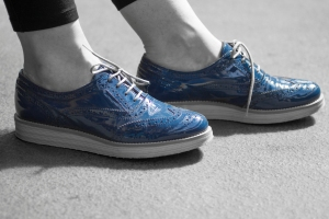 blue shoes-1